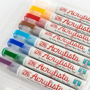 Kuretake Zig Acrylista Pens